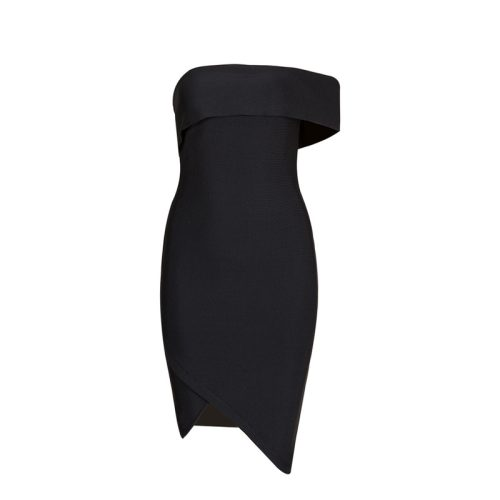 Off Shoulder Sexy Mini Bandage Dress KL1152 4