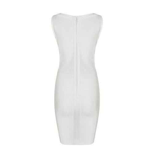 Lace up Deep V Neck Bandage Dress K072 10