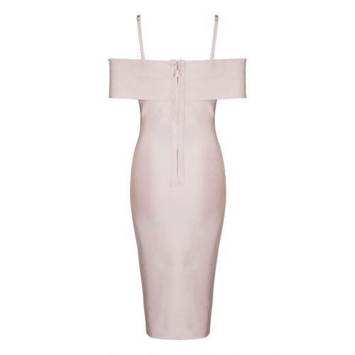 Strap Off The Shoulder Bandage Dress K078 1