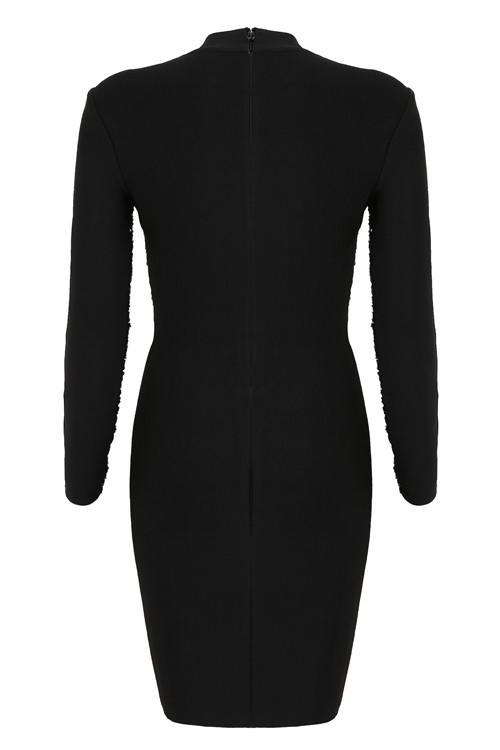 Mesh Sequin Bandage Dress K118 10