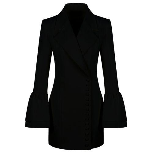 The Horn Sleeve Jacket Dress K131 1