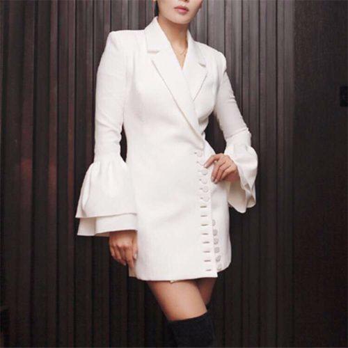 The Horn Sleeve Jacket Dress K131 12