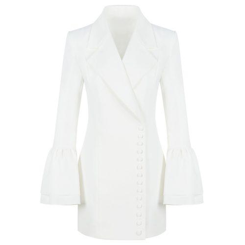 The Horn Sleeve Jacket Dress K131 14