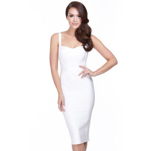 Classical Strap Stripe Bandage Dress KL139 18