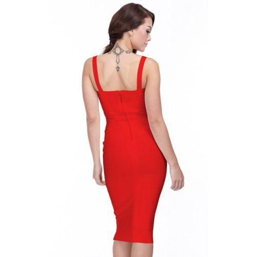 Classical Strap Stripe Bandage Dress KL139 24