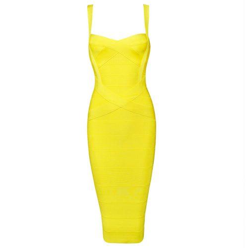 Classical Strap Stripe Bandage Dress KL139 26