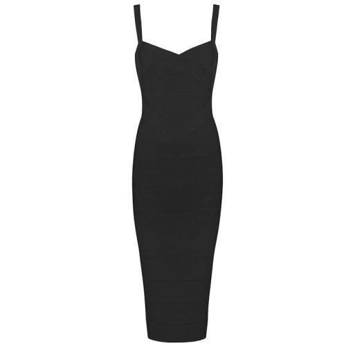 Classical Strap Stripe Bandage Dress KL139 27