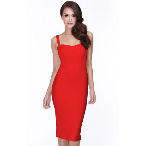 Classical Strap Stripe Bandage Dress KL139 35
