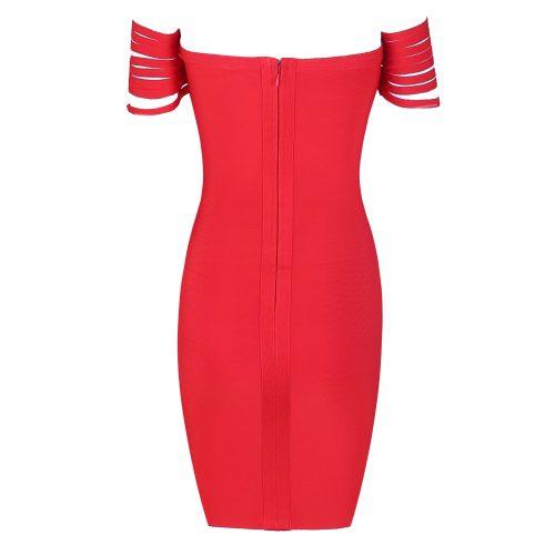 Line Off The Shoulder Bandage Dress K164 24