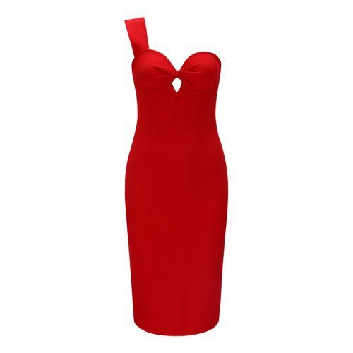 One Strap Shoulder Reverse Bust Bandage Dress K231 23