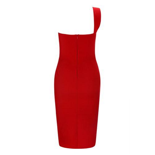 One Strap Shoulder Reverse Bust Bandage Dress K231 24