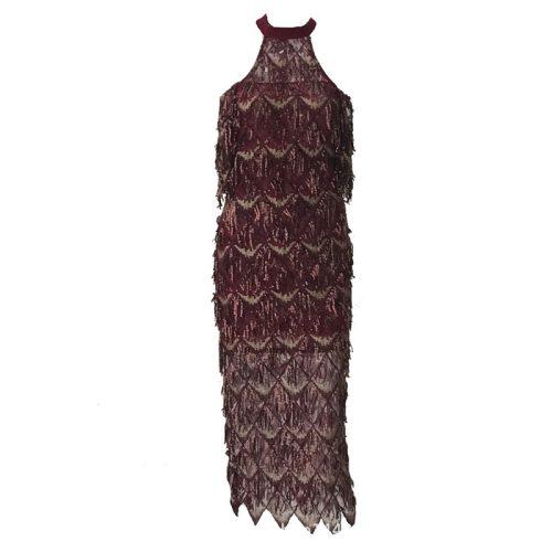 Mesh Sequin Off The Shoulder Dress K239 10