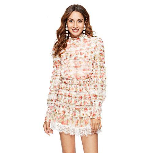 Floral Designs Lace Ruffle 2 Piece Set K263 11