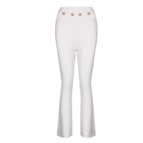 Button Bell Bottoms Bandage Pant K321 5