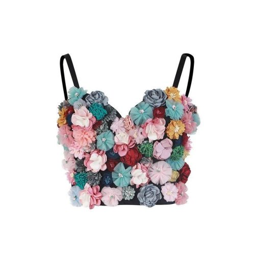 Colorful Flower Top K378 6