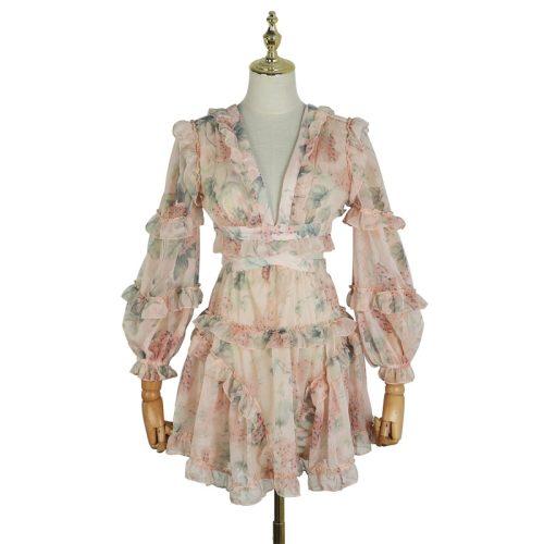 Delicate Lace Dress K379 11