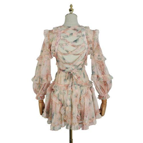 Delicate Lace Dress K379 12