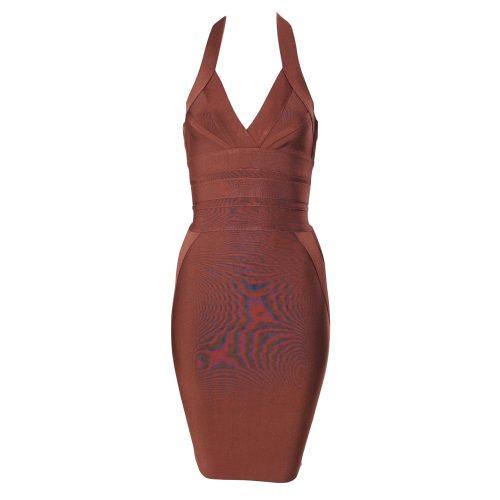 Halter Backless Bandage Dress K348 2