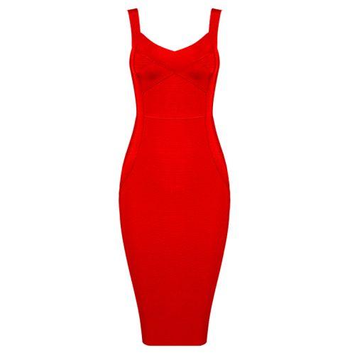Strappy Bodycon Bandage Dress K362 16