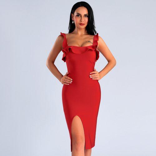 Folding-Strap-Bandage-Dress-K413-11
