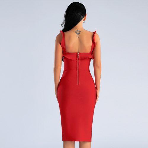 Folding-Strap-Bandage-Dress-K413-7