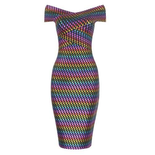 Colorful-Gilding-Bandage-Dress-K430-4