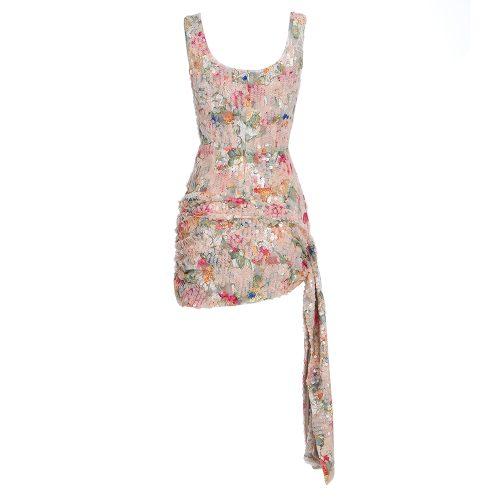 Flower-Strappy-Sequin-Mini-Dress-K445-1
