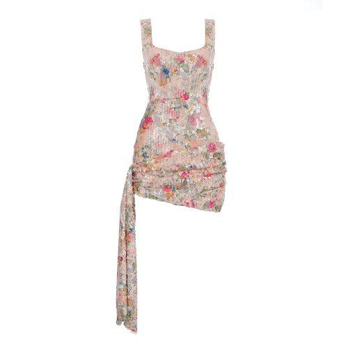 Flower-Strappy-Sequin-Mini-Dress-K445-20