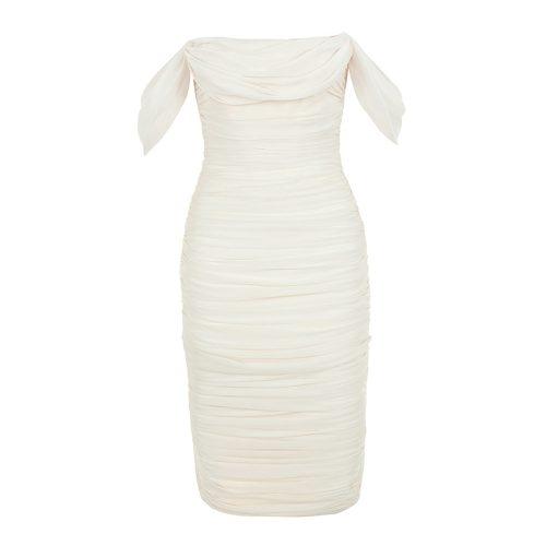 Gathered-Oranza-Mesh-Off-Shoulder-Bandage-Dress-K454-9