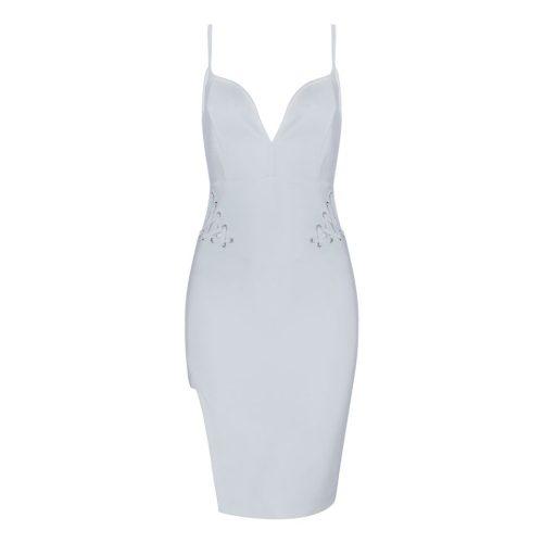 Strap-Bandage-Lace-up-Split-Dress-K481-1