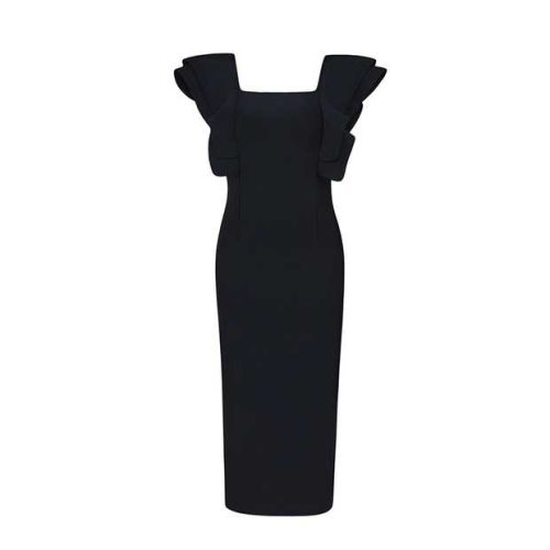 The-butterfly-Sleeves-Bandage-Dress-K483-9