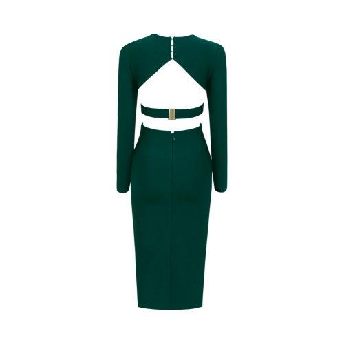 Backless-Long-Sleeve-Bandage-Dress-K505-1