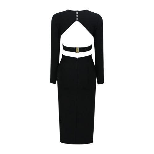 Backless-Long-Sleeve-Bandage-Dress-K505-8