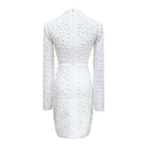 White-Beaded-Bandage-Dress-K507-11