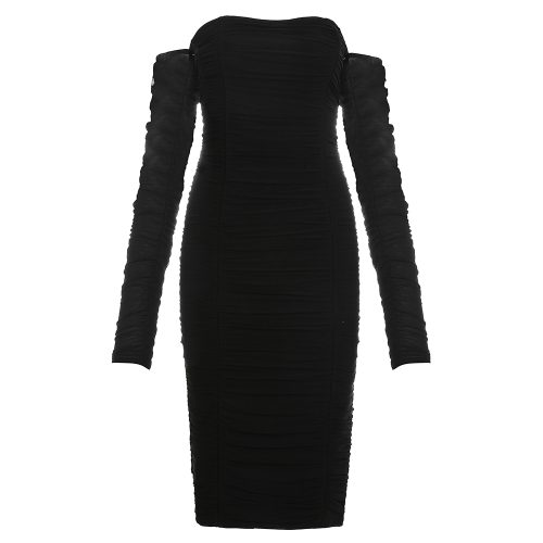Gathered-Oranza-Off-Shoulder-Dress-K520-12