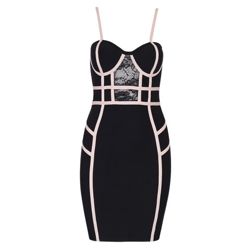 Stripe-Bandage-Dress-K519-8