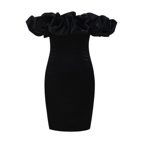 Flounce-Sleeve-Mini-Dress-K576-7