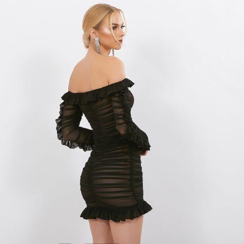 Black-Mesh-Ruched-Dress-K594-25