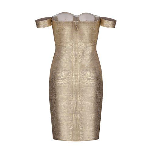 Metallic-Off-Shoulder-Bandage-Dress-K714-13