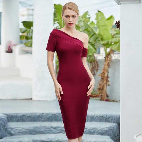 One-Shoulder-Bandage-Dress-K722-11