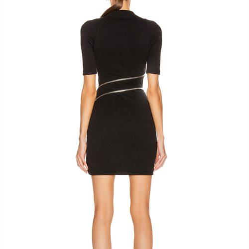 Zipper-Split-Bandage-Dress-K733-2