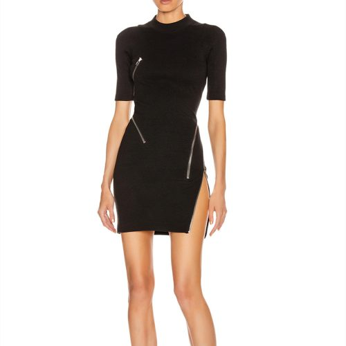 Zipper-Split-Bandage-Dress-K733-3