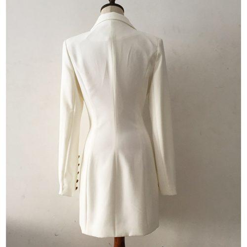 Deep-V-Gold-Buttons-Blazer-Mini-Dress-K651-9
