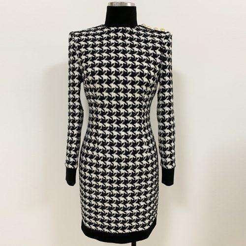 High-Collar-Zipper-Mini-Dress-K688-3