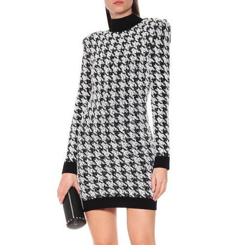 High-Collar-Zipper-Mini-Dress-K688-7