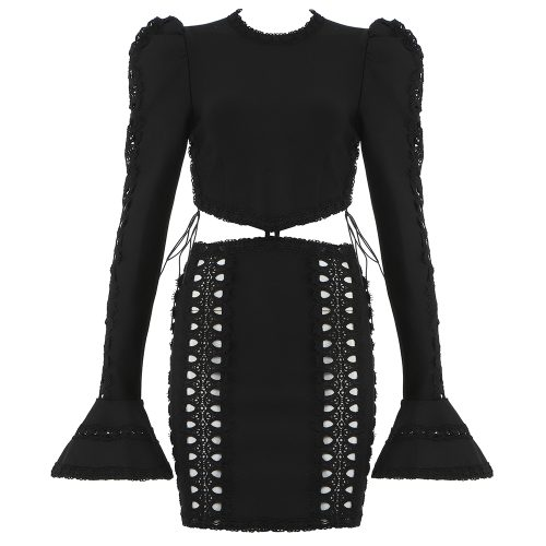 Hollowed-Out-Lace-Bandage-Dress-K950-1