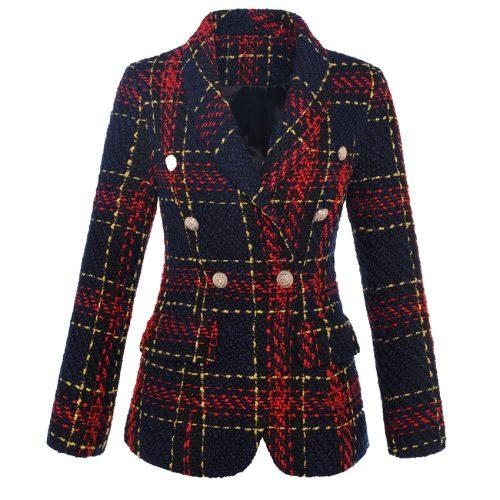 Plaid-Ladies-Suit-K623-1