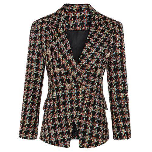 Plaid-Ladies-Suit-K640-5