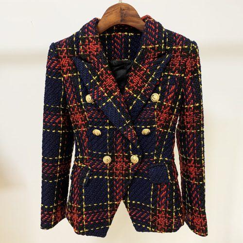 Plaid-Ladies-Suit-K705-2