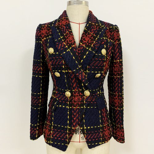 Plaid-Ladies-Suit-K705-6